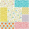 House and Garden collection - cute prints for kids' clothes and/or quilts