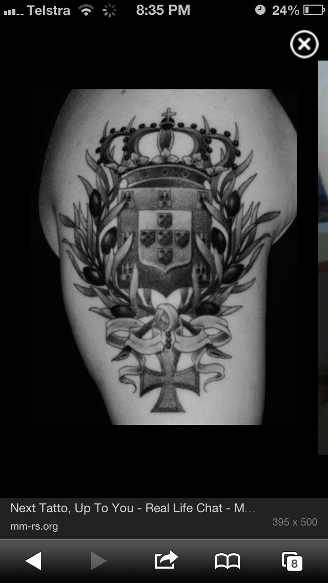 Pin By Sandy Couto Moyet On Favorite Tats In 2020 Tattoos Crest Tattoo Portuguese Tattoo