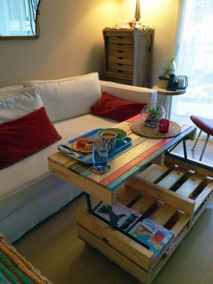 die besten 25 paletten hebe ideen auf pinterest heben sie den top couchtisch an holzpalette. Black Bedroom Furniture Sets. Home Design Ideas