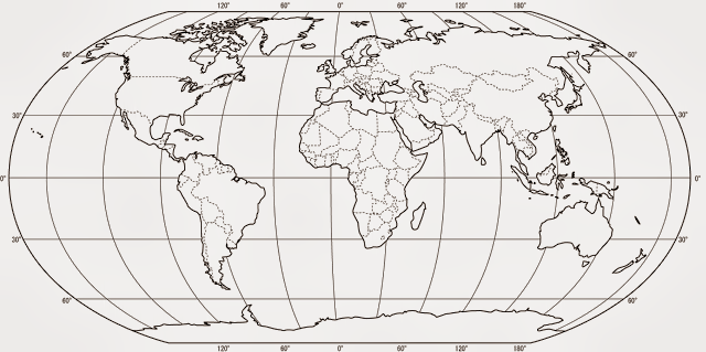 stones of erasmus: Blank World Map for Printing (with