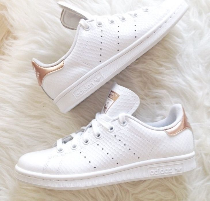 Adidas Stan Smith Gold Rose [VPJVH431] - £50.41 : | clothes ...
