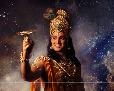 Pesona Saurabh Raj Jain Pemeran Krishna Dalam Mahabharata With
