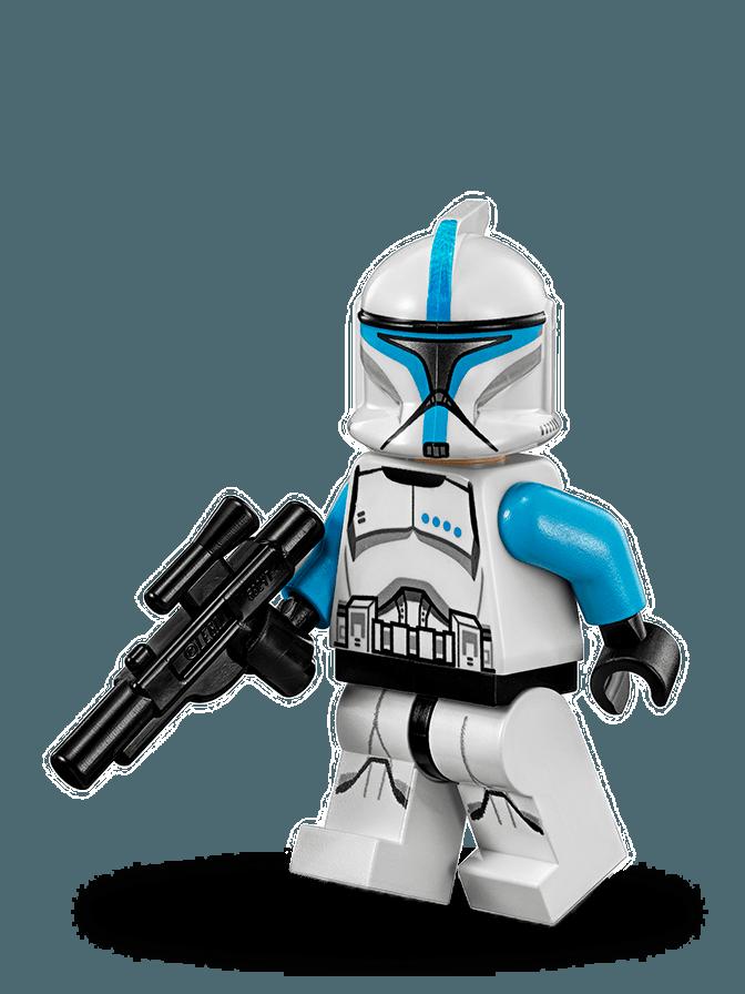 Teniente Clone Trooper™ | Lego J | Pinterest | Galaxias, Personajes ...