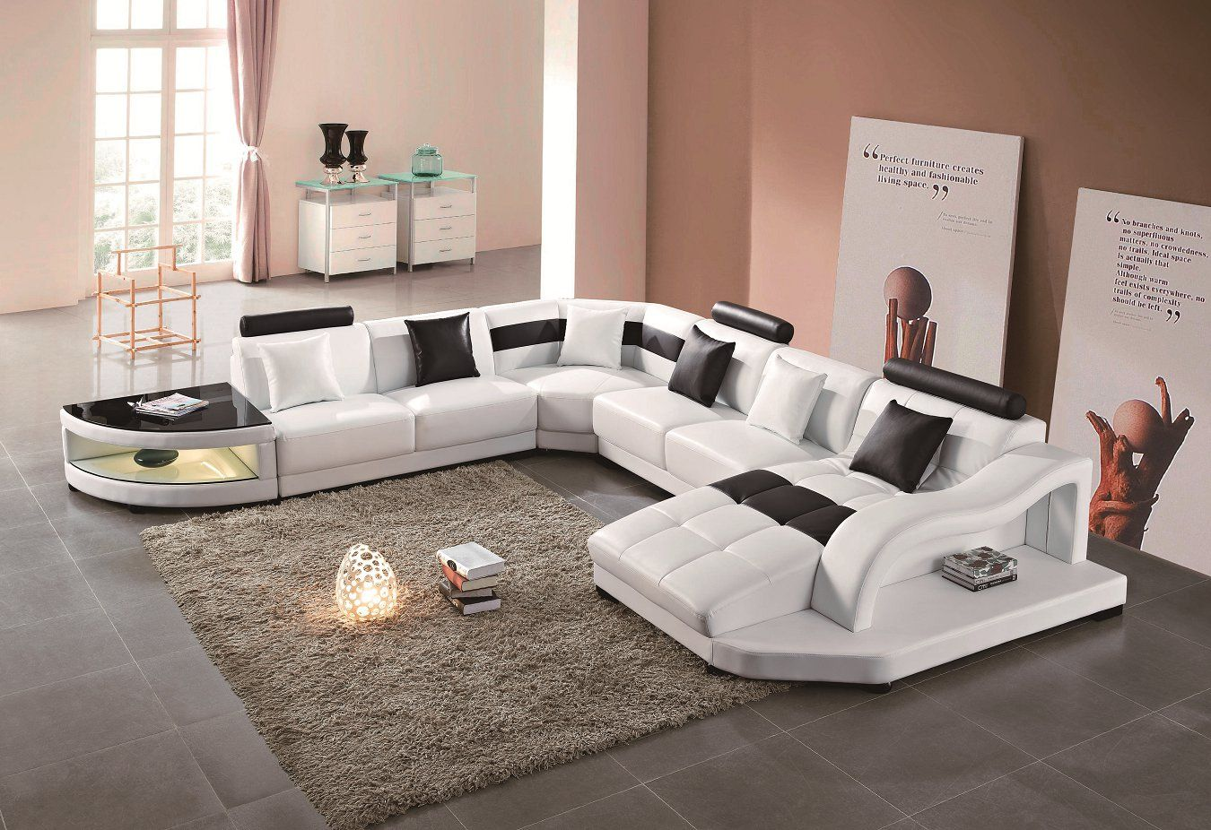 Pin von Molan auf Modern Leather Sofa | Pinterest