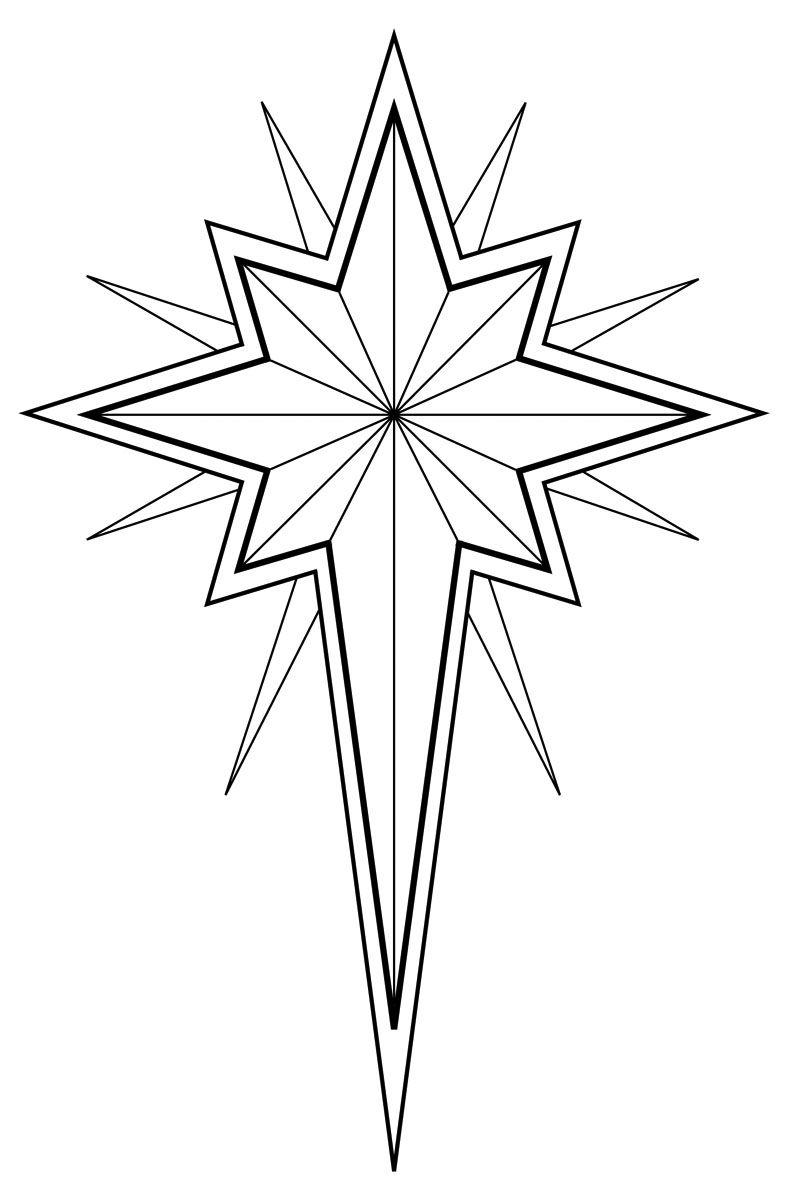 Christmas Star Clip Art Black And White Christmas Star Clip Art