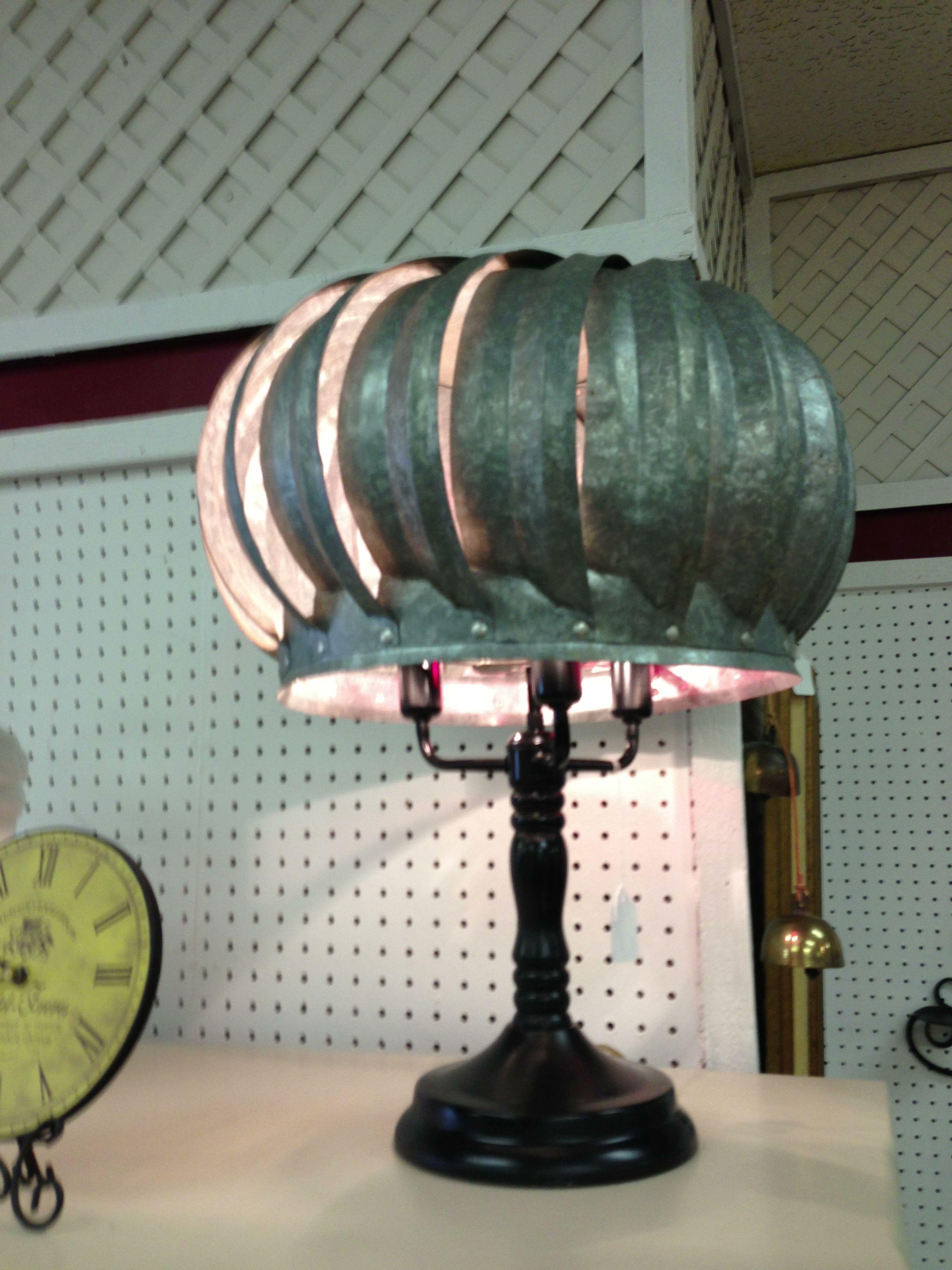 Turbine shade lamp...