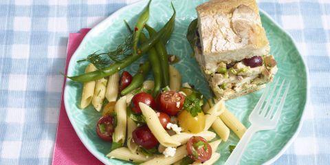 Pressed Grilled Chicken Salad Sandwiches Recipe