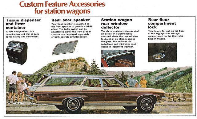 1970 Chevrolet Impala Kingswood Estate Wagon Station Wagon Kids