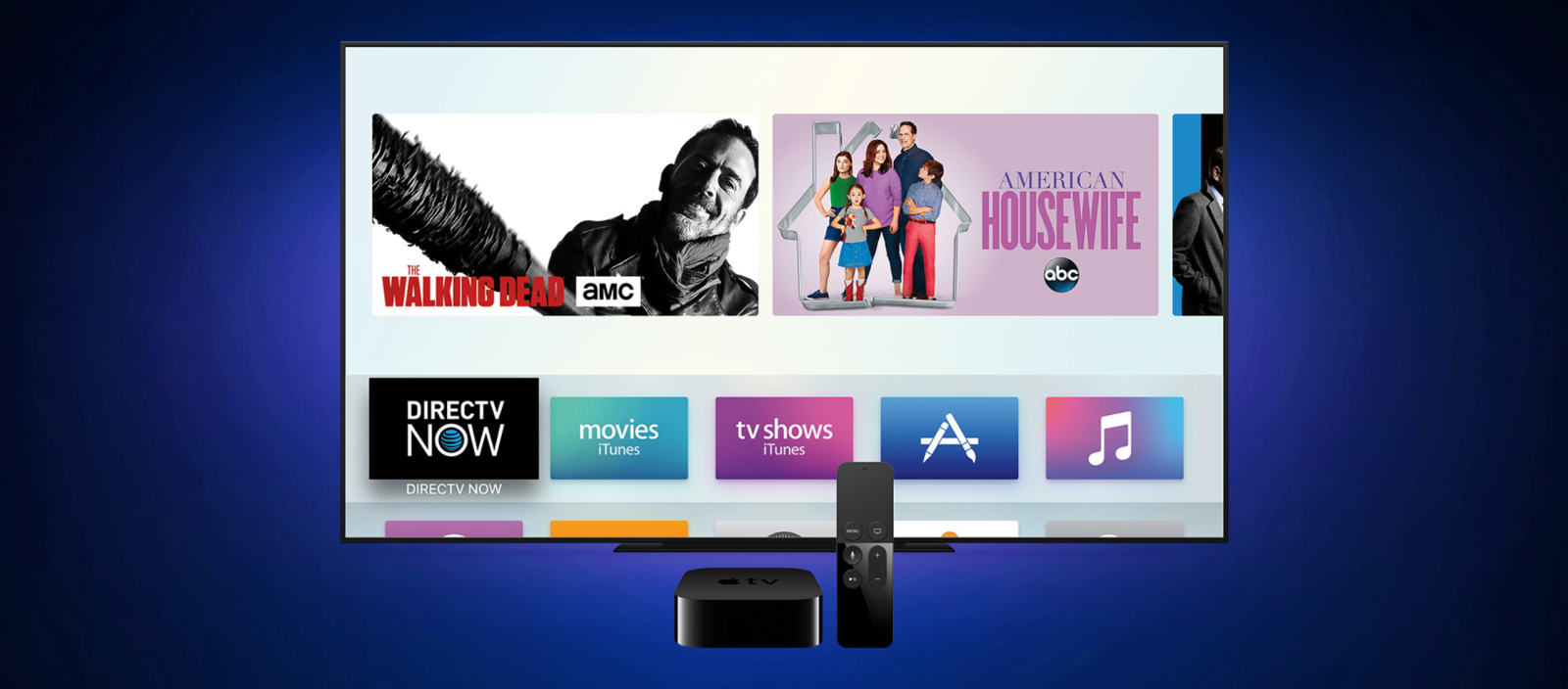 DirecTV Now gaining TV app support, Single SignOn, Siri