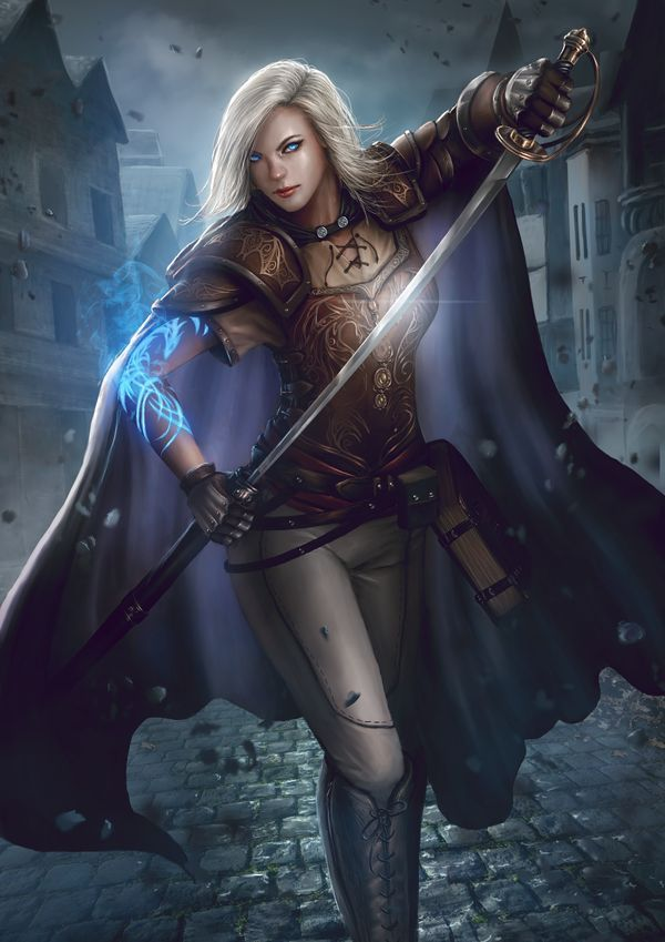 Providence et vikings fantasy f in 2018 pinterest personnage personnages and art - Personnage manga fille ...