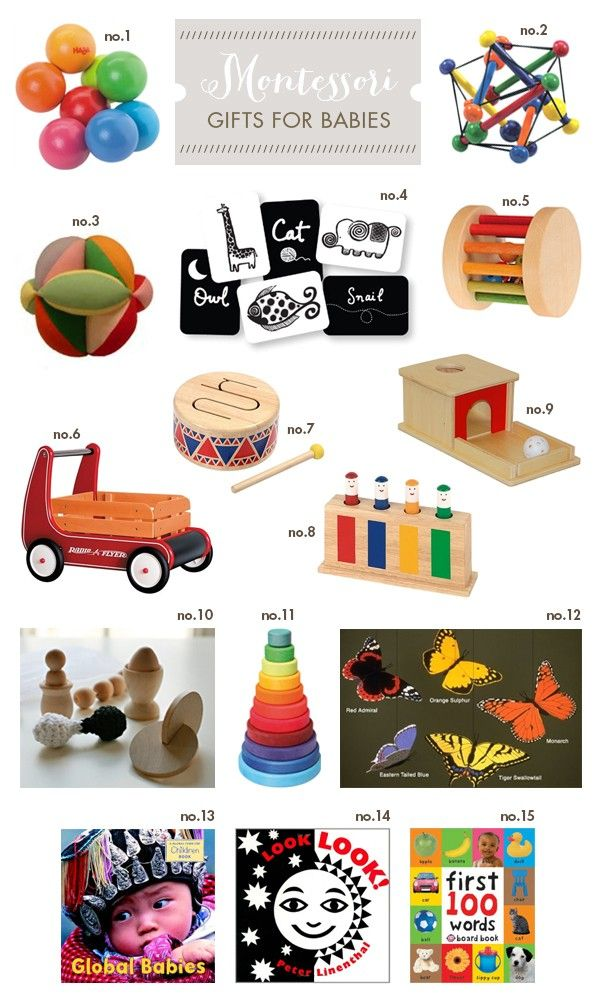 Montessori Gift Ideas For Baby Hellobee Guides