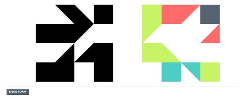 tangram generator, 1000 forms, designkind