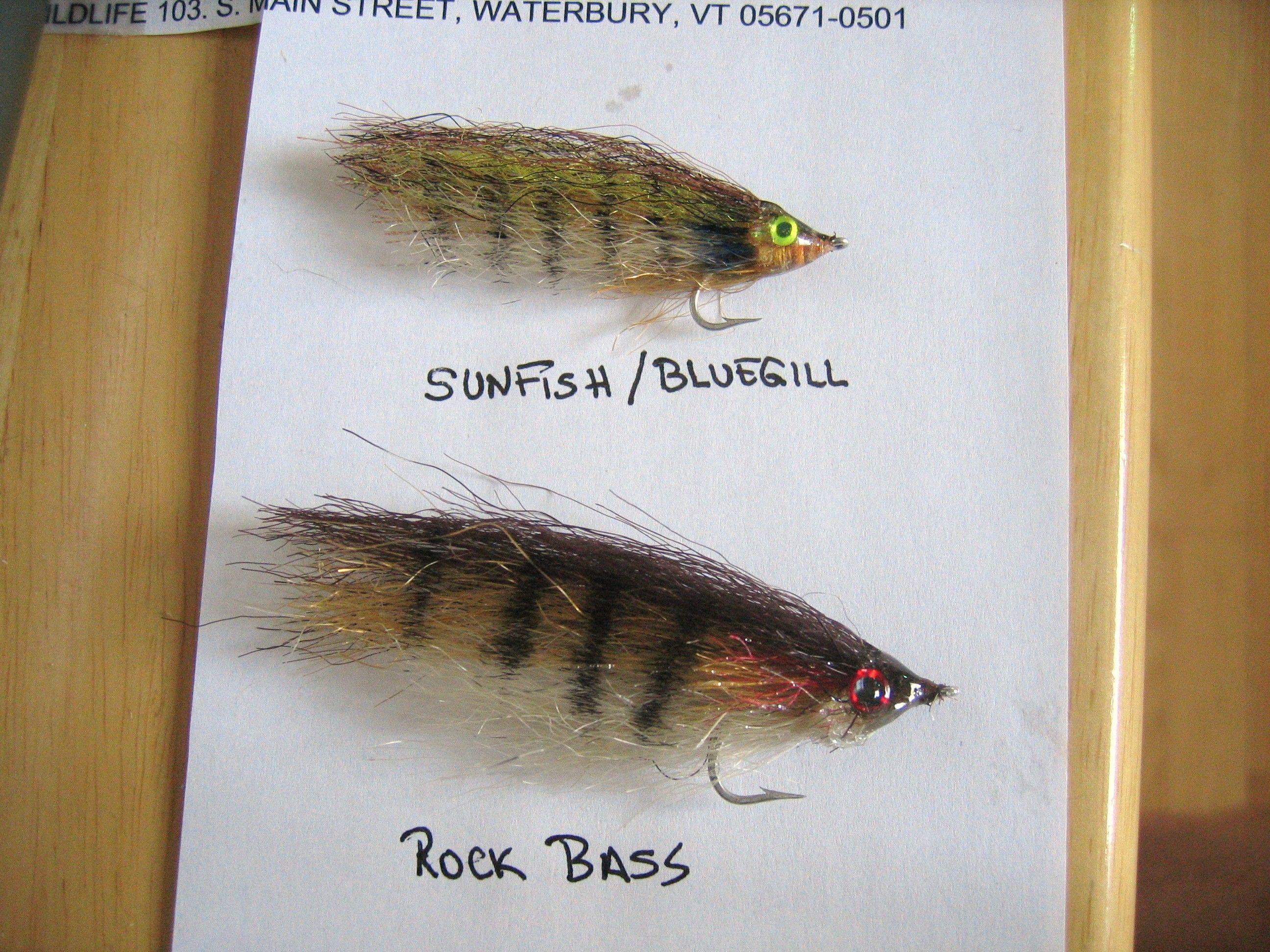 bluegill & rockbass patterns - fly fishing forum | fly fishing, Fly Fishing Bait