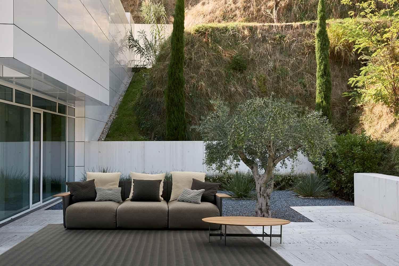 Divano Da Giardino Moderno Design.Divano Da Giardino Tre Posti Moderno Myyour Begin Wave Divano Giardino Aree Lounge Divano Esterno