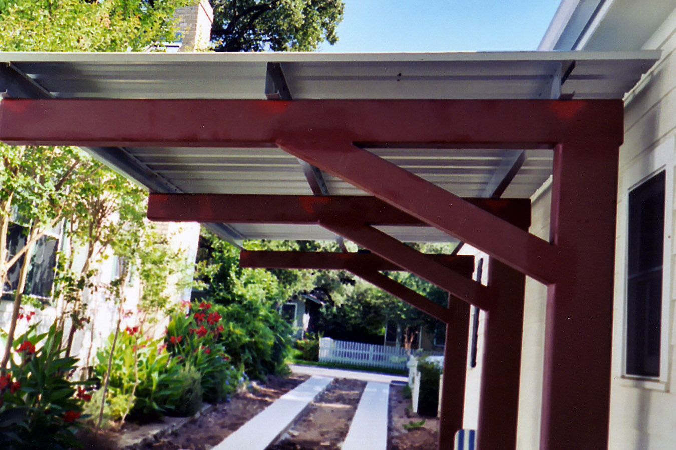 Superior Wood Porch With Cover | Metal Patio Covers | Metalink   Austin, TX