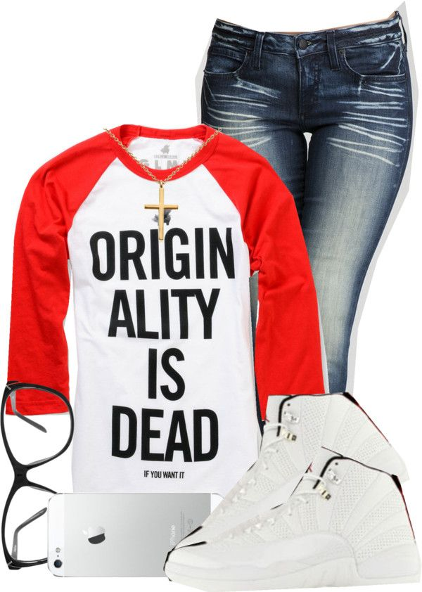 """""""this shirt is too true."""" by deshariaaa ❤ liked on Polyvore"""