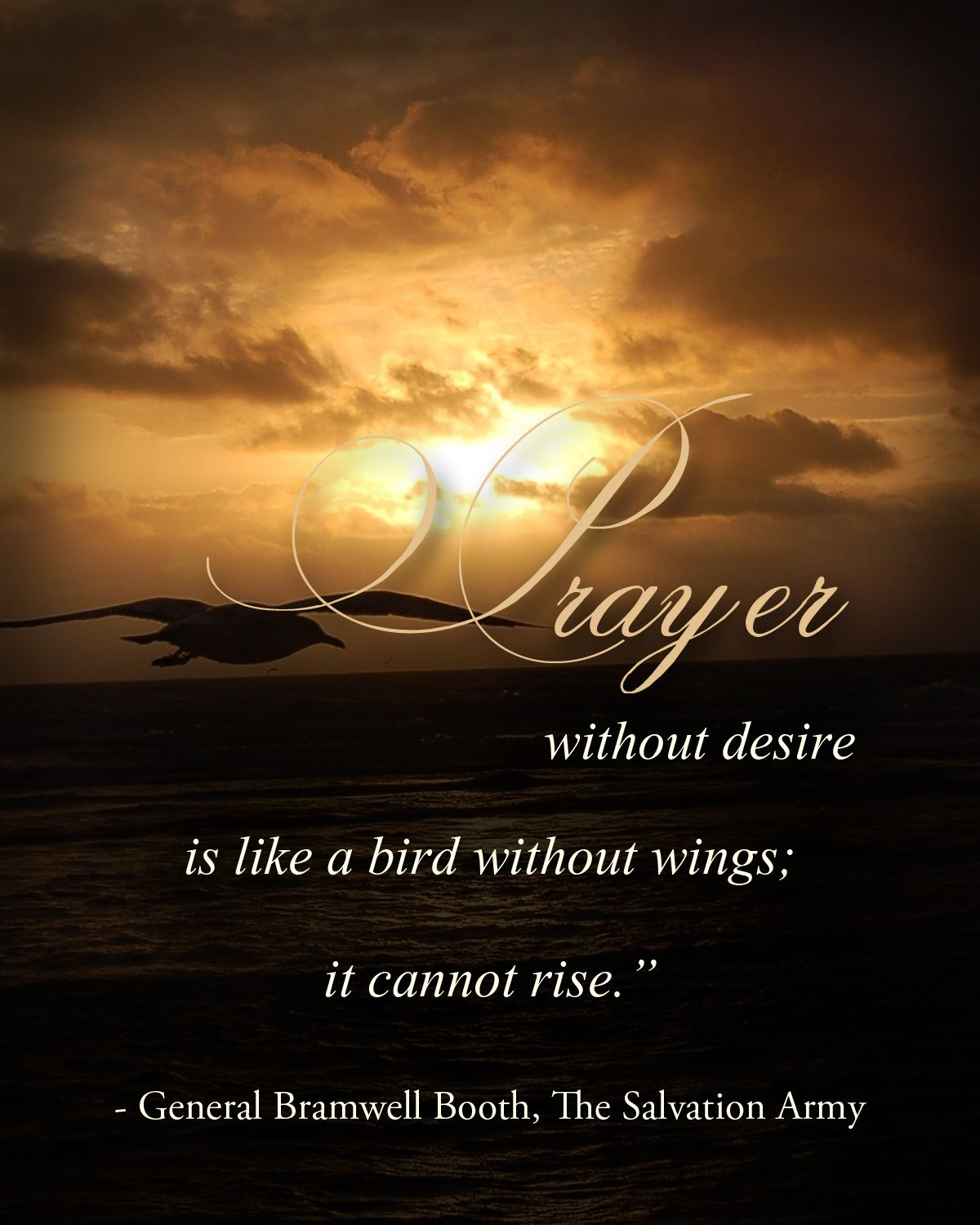 "Inspirational Prayer Quotes: ""Prayer Without Desire Is Like A Bird Without Wings; It"