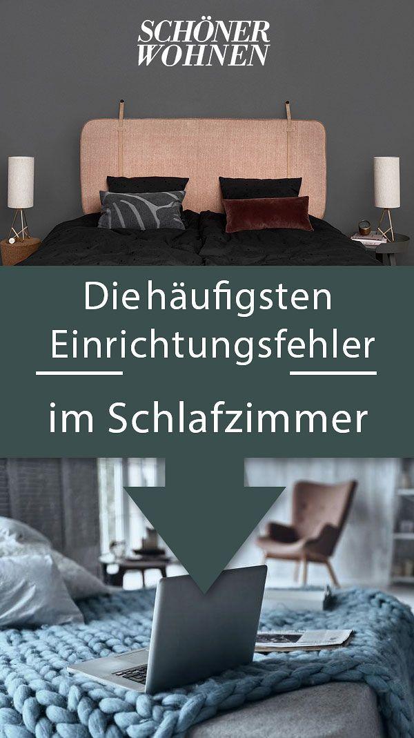Einrichtungsfehler im Schlafzimmer - schöner wohnen schlafzimmer gestalten