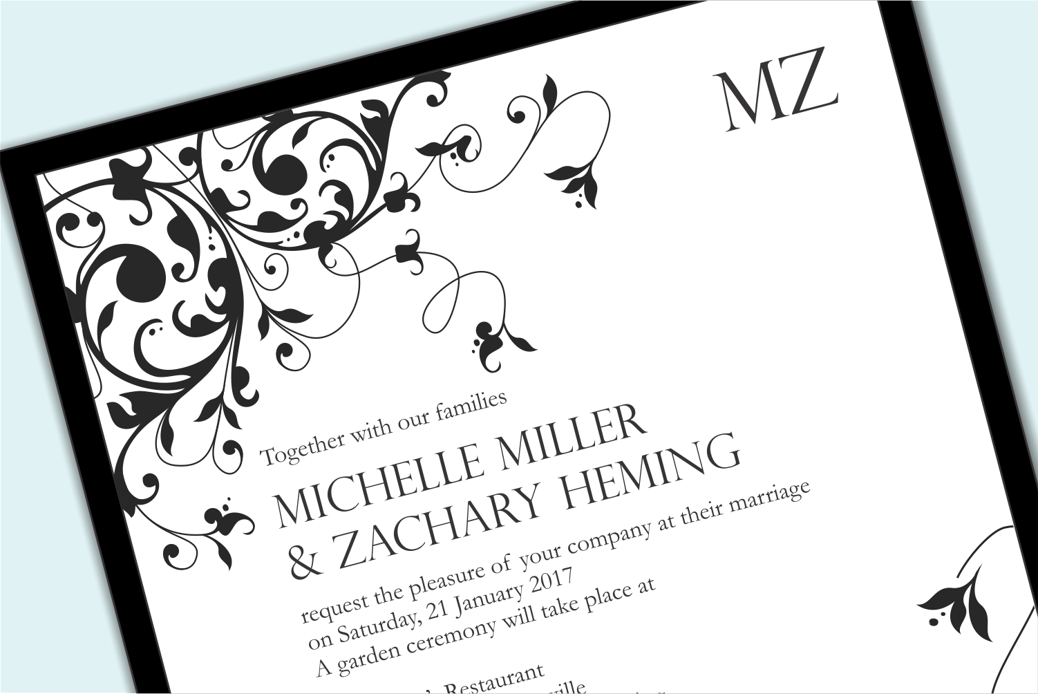 Formal wedding invitations whats your wedding invitation style formal wedding invitations whats your wedding invitation style stopboris Image collections