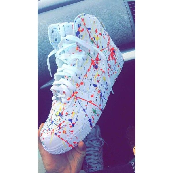 Footwear � Custom Splatter Nike ...