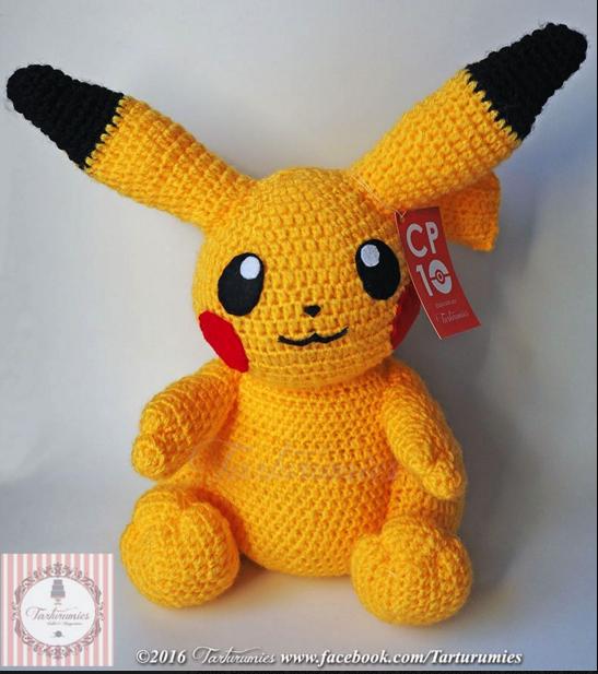 pokemon amigurumi patron gratis free pattern crochet ganchillo ...