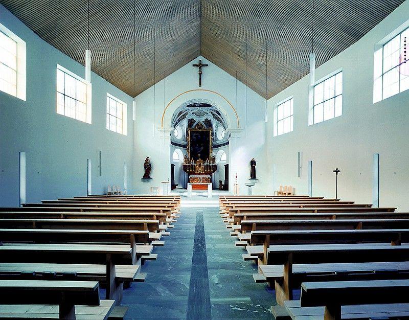 Neugestaltung Kirchenschiff - Restaurierung des barocken Chors - Bilder: Urs Siegenthaler, Zürich