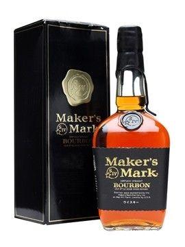 Maker S Mark Export Black Wax Japan Makers Mark Bourbon