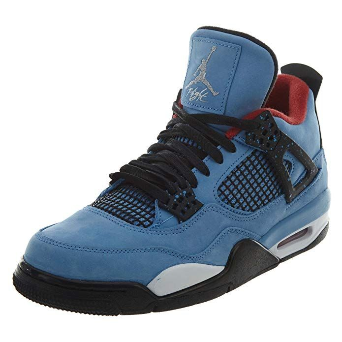 check out 366e0 dd94d Jordan 4 Retro Mens Color  University Blue Varsity Red Bl Synthetic 100%  Authentic Brand New Durable Original Packaging