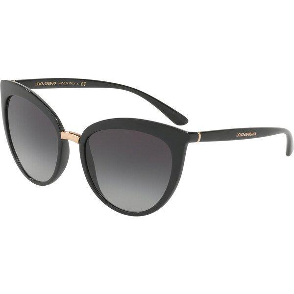 Dolce & Gabbana DG6113 501 / 8G, Plastic, Black, Sunglasses …