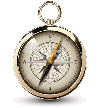 Compass Royalty Free Stock Vector Art Illustration