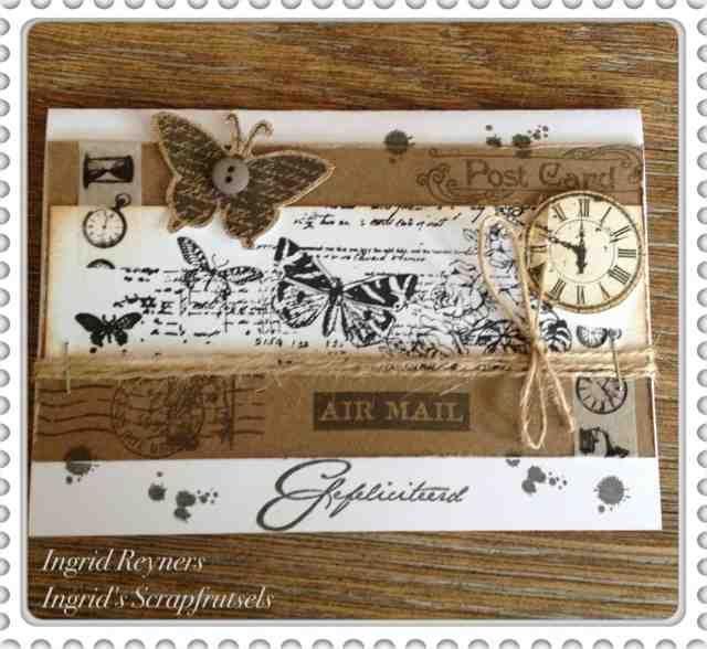 Ingrid's scrapfrutsels: Vlinders