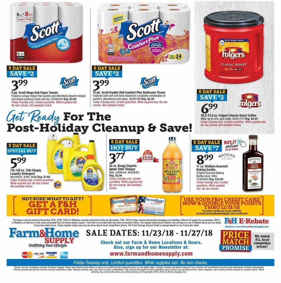 Farm Home Supply Black Friday 2018 Ads Scan Deals And Sales See The Farm Home Supply Black Friday Ad 2018 At 10 Black Friday Ads Black Friday Post Holiday