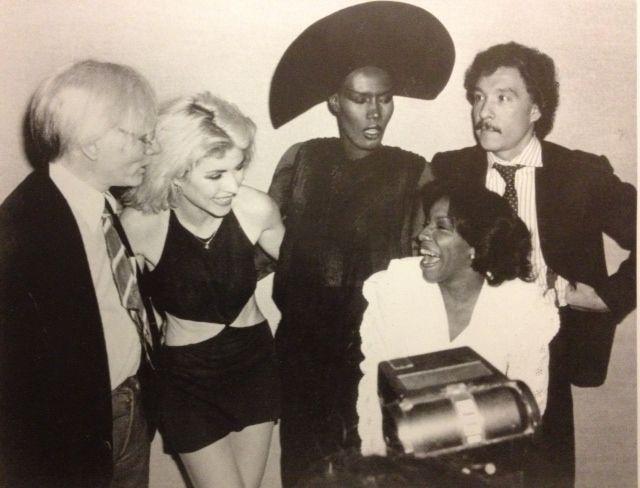 andy, debbie, grace, antonio, nyc, 1982