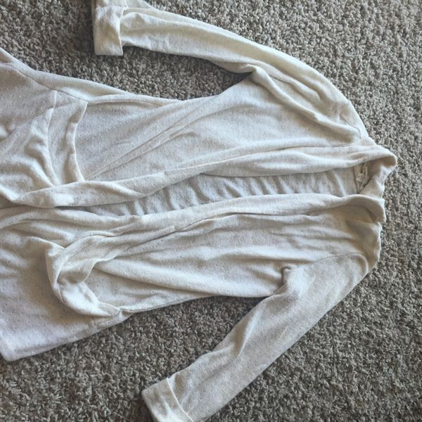 For Sale: Cream Colored Cardigan for $7