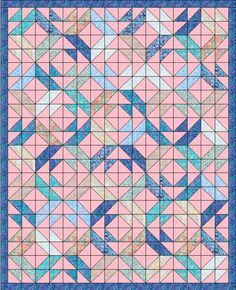 Lets Quilt Something: Dream - Free Quilt Pattern - Using Charm Packs or Layer Cake