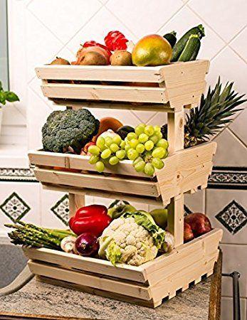 Bildergebnis für küche obst gemüse aufbewahrung | Ideas ...