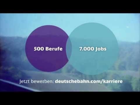 deutsche bahn berufe werbung 2013 db 500 berufe 7000 jobs youtube - Youtube Video Bewerben