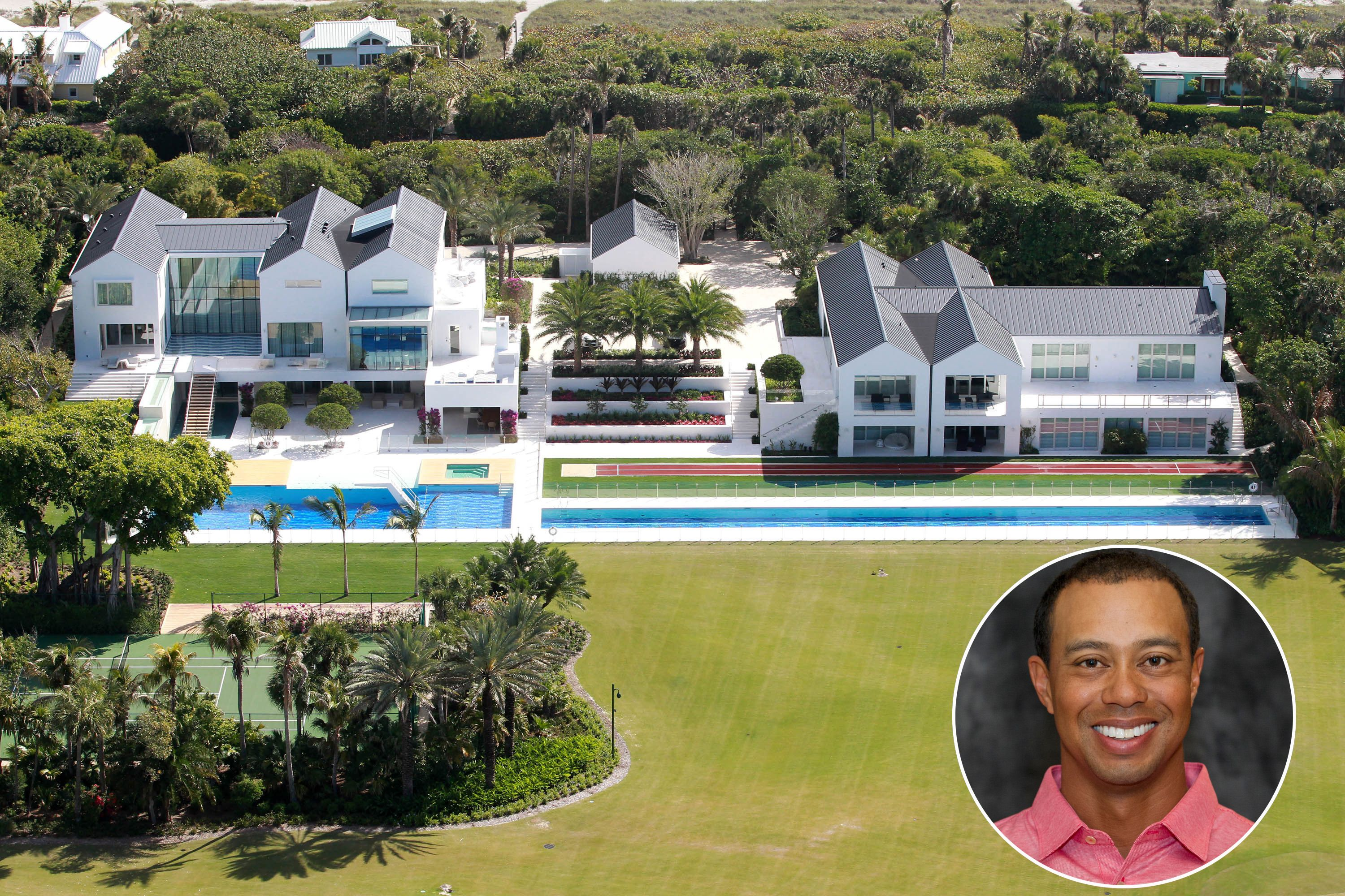 Tiger Woodsu0027 House   Tiger Woods Is Living It Up In Jupiter, FL, Where He  Owns A $60 Million Estate.