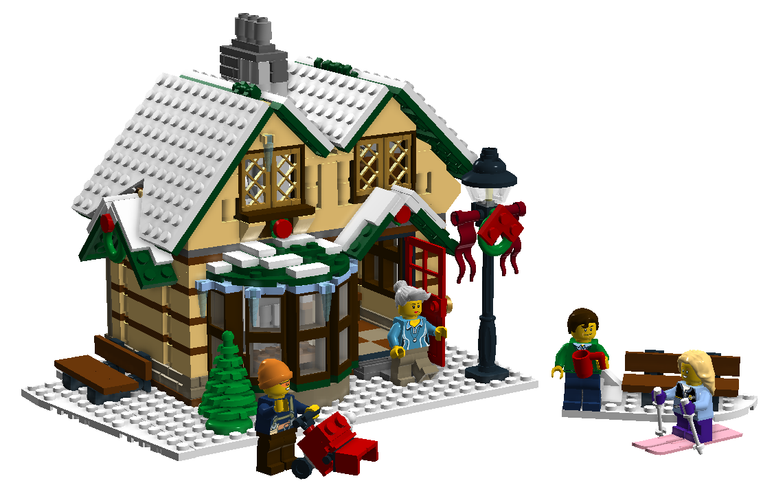 Expand The Winter Village Contest Iii Lego Town Eurobricks Forums Lego Christmas Village Lego Winter Lego Christmas