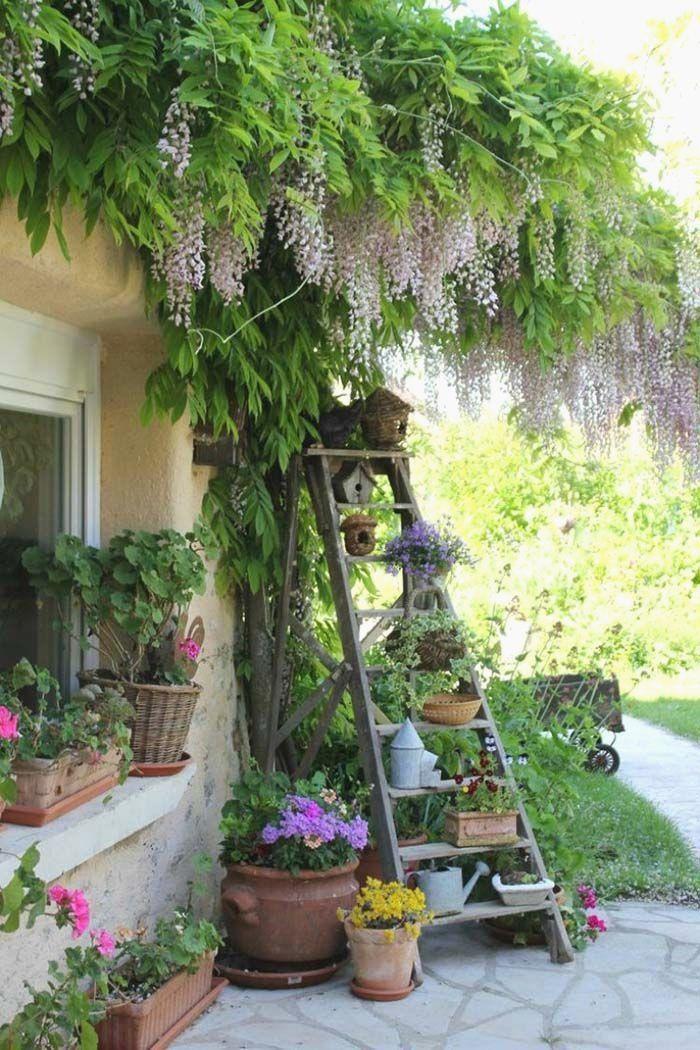 Garden Corner Ladder #garden #corner #decorhomeideas
