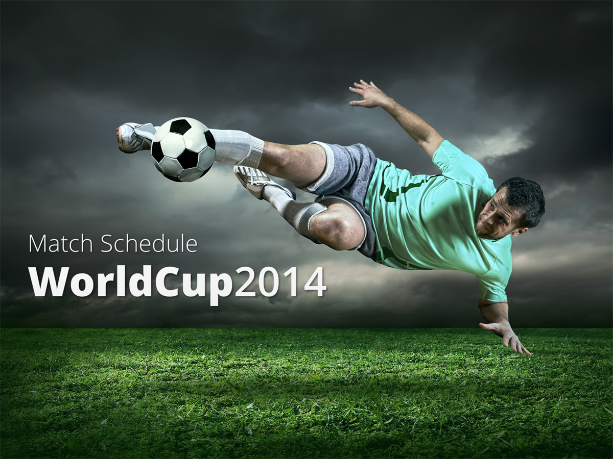 Download This Powerpoint Worldcup Match Schedule For Free