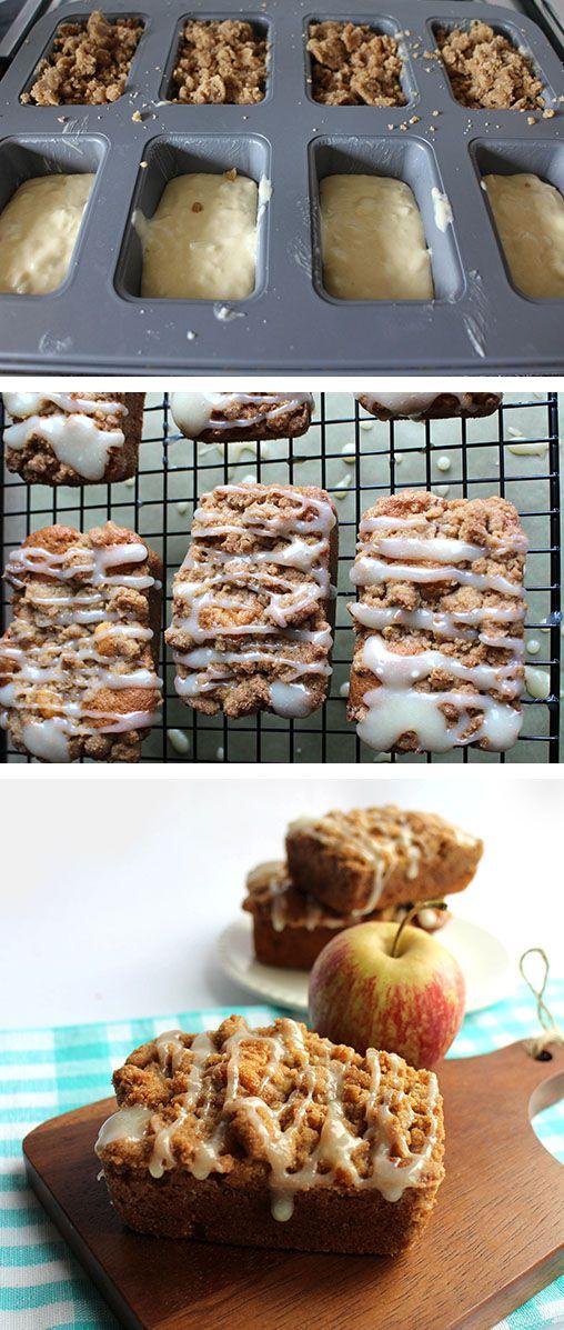 Apple Crumb Cakes Recipe Best Comfort Foods Pinterest Apple