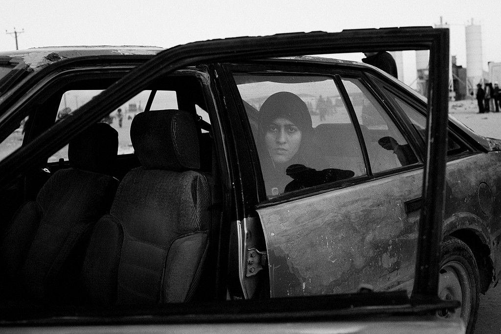 The Libyan uprising. Exodus. Nicole Tung