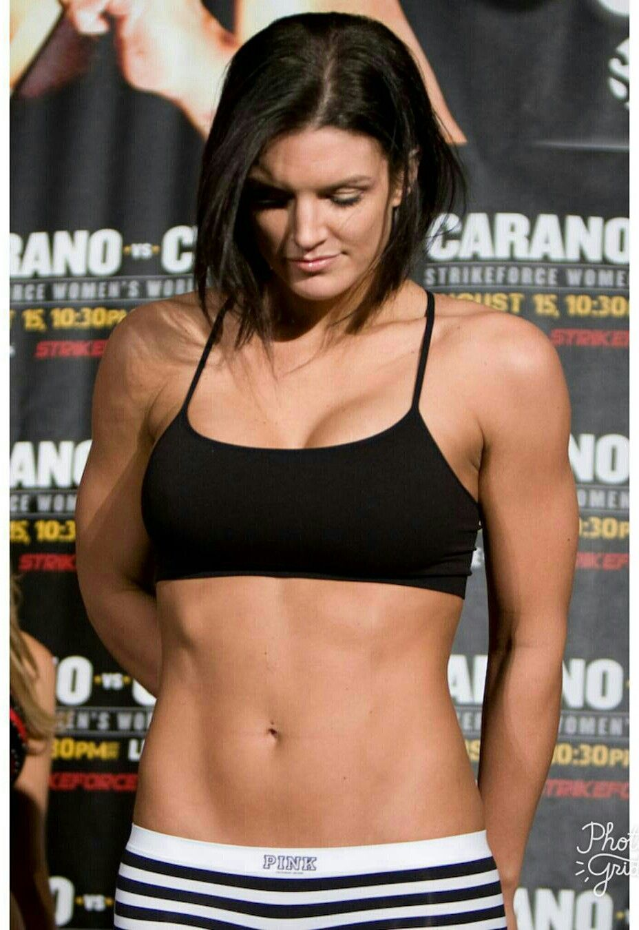 Watch Gina Carano Nude She's the Hottest MMA Fighter Ever - PICS video