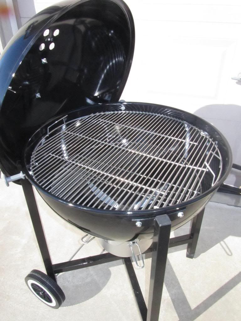 Solution To Wobbly Legs On A 26 Otg Kettle Grills Grilling Weber Kettle