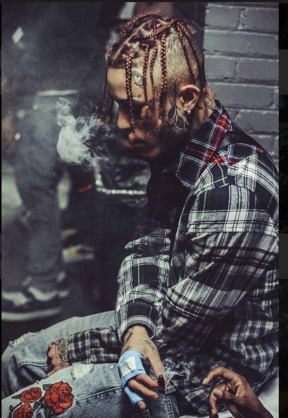 ayoonei ♡ ♡ ♡ Lil skies, Rapper, Sky art