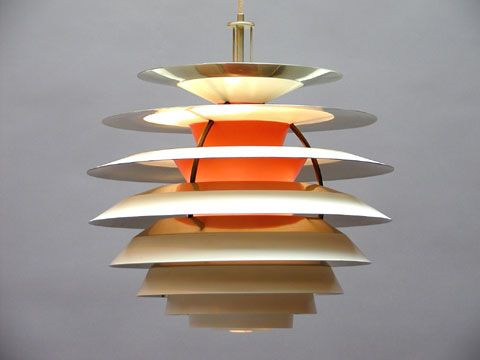 Poul Henningsen Contrast ceiling lamp for Louis Poulsen 1962