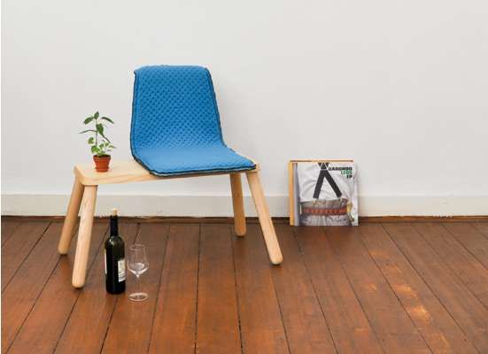 Great idea: The Emma Chair by Kieser Spath Combines Cozy Seat and Surface