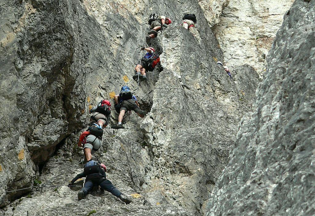 Pittentaler Klettersteig : Klettersteig nordwand elferspitze via ferrata pinterest