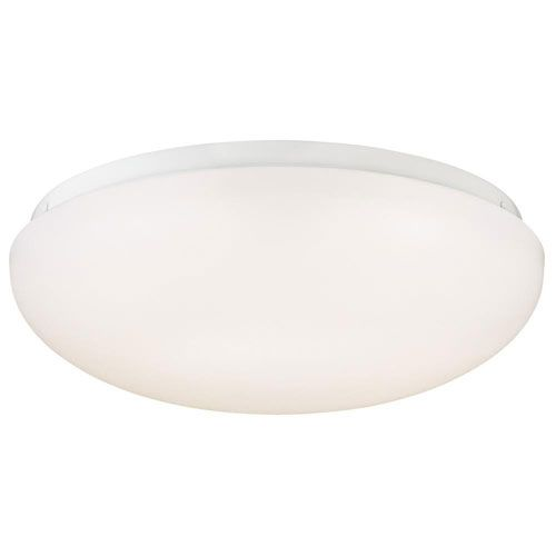 White 11 Inch One Light Led Flush Mount Led Flush Mount Led Lights Ceiling Fixtures